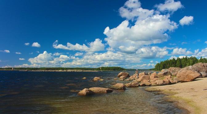 summer fishing spot